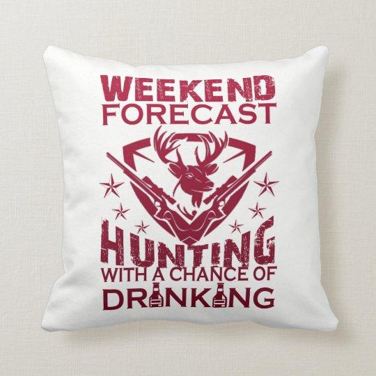 週末の予測の狩り クッション