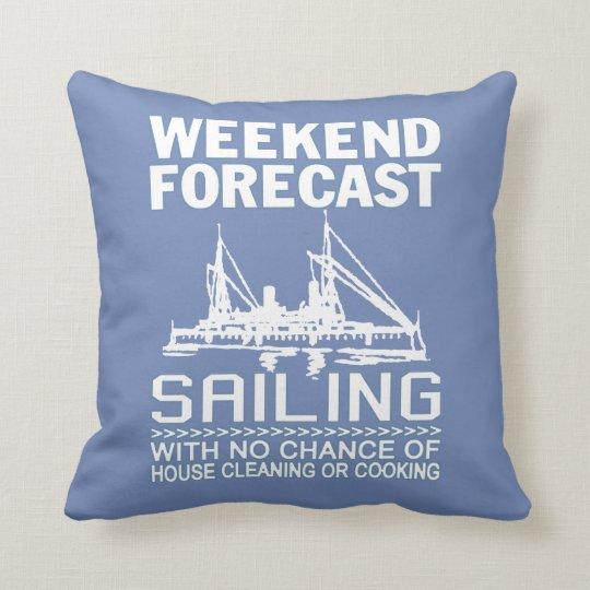 週末の予測の航行 クッション