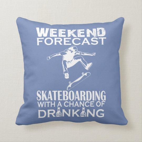 週末はスケートボードをを予測しました クッション