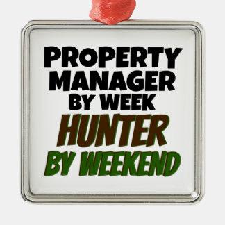 週末までに週のハンターによる特性マネージャー メタルオーナメント