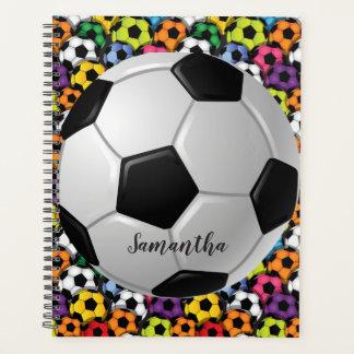 週間サッカーボールか月例プランナー プランナー手帳