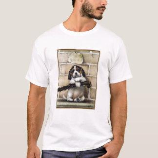"""""""週""""古い子犬、4 Tシャツ"""