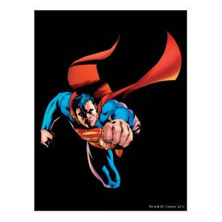 進んでいるスーパーマン ポストカード