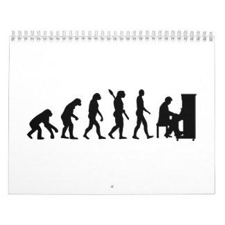 進化のピアノピアニスト カレンダー