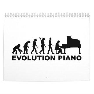 進化のピアノ カレンダー