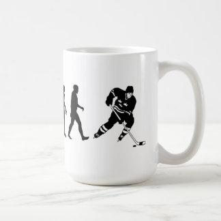 進化のホッケーのマグ コーヒーマグカップ