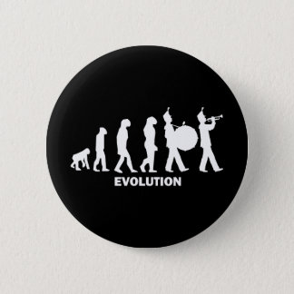 進化のマーチングバンド 5.7CM 丸型バッジ