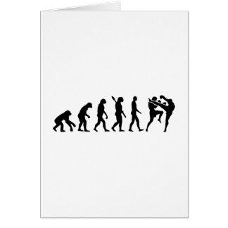 進化のムエタイ カード