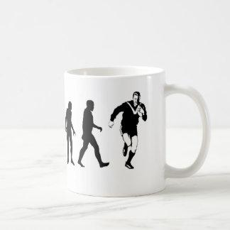 進化のラグビー コーヒーマグカップ