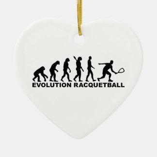 進化のラケットボール セラミックオーナメント