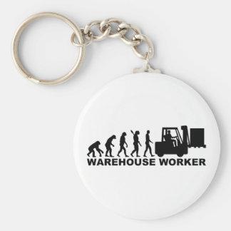 進化の倉庫の労働者 キーホルダー