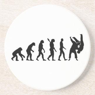 進化の柔道 コースター