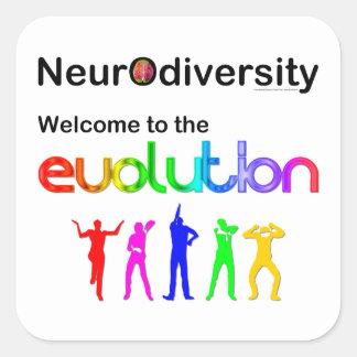 進化へのNeurodiversityの歓迎 スクエアシール