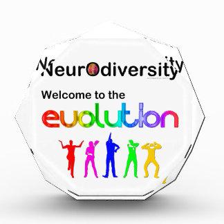 進化へのNeurodiversityの歓迎 表彰盾