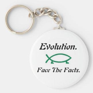 進化ダーウィンの魚 キーホルダー
