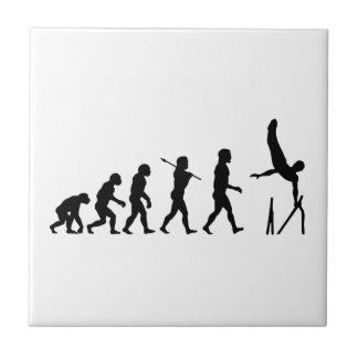進化平行棒の体操の タイル