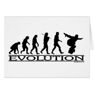 進化-スノーボード カード