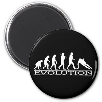 進化-スピードスケート マグネット