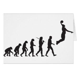 進化-バスケットボールのジャンプ カード