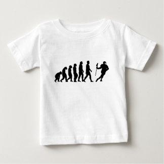 進化 ベビーTシャツ