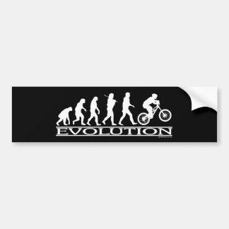 進化- Mtのサイクリング バンパーステッカー