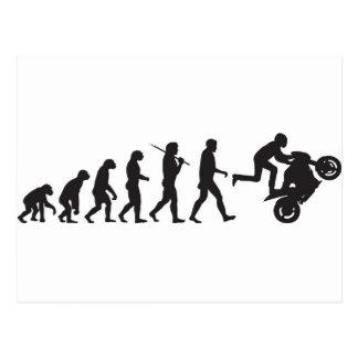 進化- Wheelie ポストカード