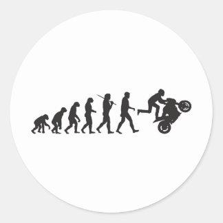 進化- Wheelie ラウンドシール