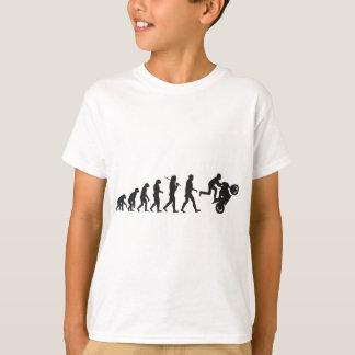 進化- Wheelie Tシャツ