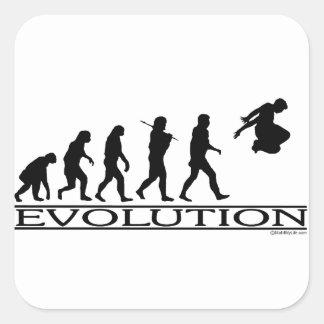 進化Parkour スクエアシール