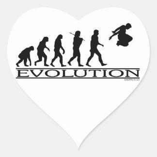 進化Parkour ハートシール
