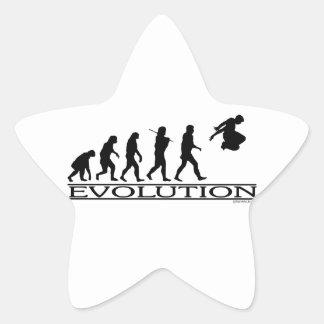 進化Parkour 星シール