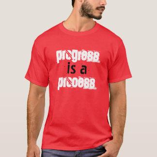 """""""進歩プロセス""""はTシャツです Tシャツ"""