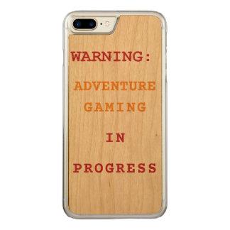 進行中の冒険の賭博 CARVED iPhone 8 PLUS/7 PLUS ケース
