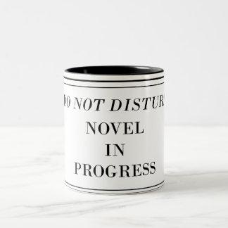 -進行中の小説を妨げないで下さい ツートーンマグカップ