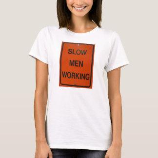 遅い人の働くこと Tシャツ