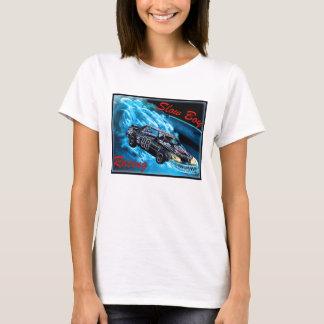 遅い男の子の競争のための女性Tシャツ Tシャツ