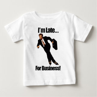 遅くビジネスRollerbladeのスケート選手のミームのために ベビーTシャツ