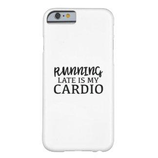 遅く走ることは私の心臓です BARELY THERE iPhone 6 ケース