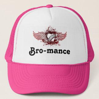 遅白のロゴ、Bro-mance キャップ