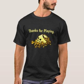 遊ぶことをありがとう Tシャツ