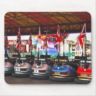 遊園地のマウスパッドのDodgem車 マウスパッド