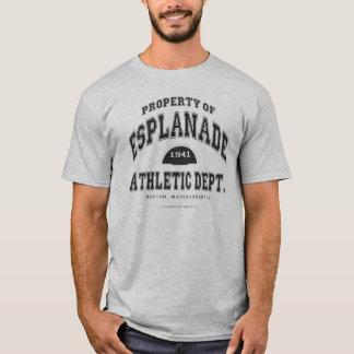 遊歩道の運動部門 Tシャツ