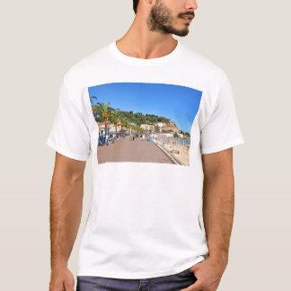 遊歩道des Anglais Tシャツ