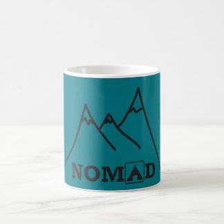 遊牧民山のマグ コーヒーマグカップ