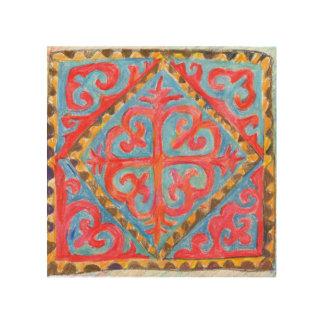 遊牧的な知恵。 中央アジアの伝統芸術 ウッドウォールアート