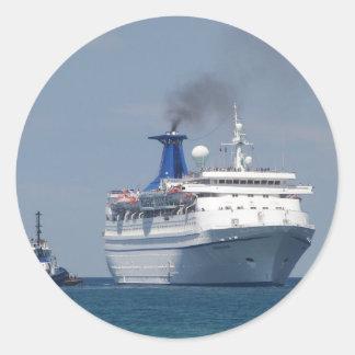 遊航船のアクアマリン ラウンドシール