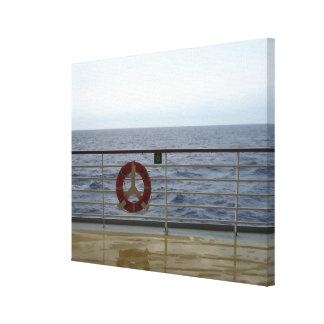遊航船の柵 キャンバスプリント