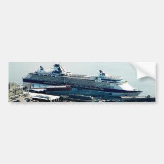 遊航船 バンパーステッカー
