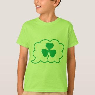 運のスピーチ Tシャツ