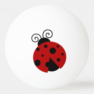 運はてんとう虫の漫画です 卓球ボール